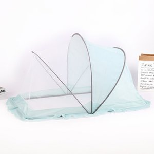 New High Quality Portable Foldable 105*60*65CM Blue Pink Gray Mosquito Net For Kids Home Outdoor Travel Use Universal