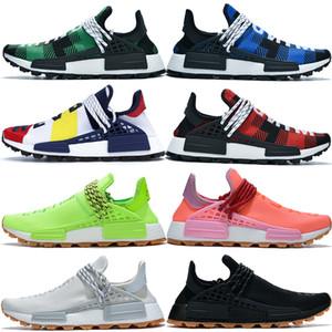 NMD Human Race nouveau souffle savoir âme que les hommes des femmes chaussures de course Pharrell Williams Hu solaire pack Oreo formateurs hommes rouges chaussures de sport de sport