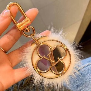 Fashion Paris Show Luxury Designer Keychain Vogue Leopard Print Circular Ring Rotate Beautiful Bag Chains Gold Car Keychain for Best Gifts