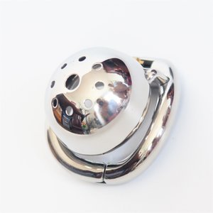 Ergonomic Stainless Steel Stealth Lock Male Chastity Device,Cock Cage,Fetish Virginity Penis Lock,Cock Ring,Chastity Belt,S077 T200525