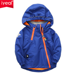 IYEAL 2018 NEW Autumn Polar Fleece Children Outerwear Warm Sporty Kids Baby Clothes Waterproof Windproof Boys Jackets for 2-8Y
