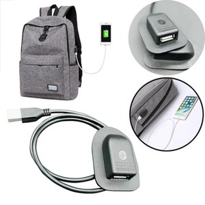 2018 New Black Backpack External USB Charging Interface Adapter Charging Cable M13