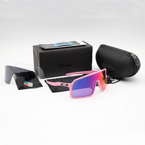 Großhandels-OO9406 Radfahren Brillen Sutro Männer Art und Weise polarisierte TR90 Sonnenbrille im Freien Spo Brille 8 Bunt, Polariezed, Transparent len