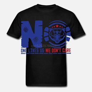 Glasgow Rangers T-shirt No One Likes Us Mens Fans Slogan Tshirt Gift