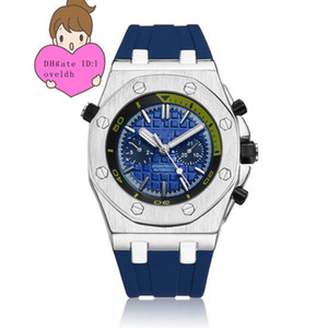 Vendas diretas da fábrica, relógio de alta qualidade totalmente automático relógio mecânico. Mens Sports Watch WristWatches15710st Homens Mens Watch Watches