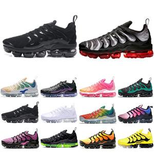 nike air vapormax tn plus noir blanc Royal Game Hommes Femmes chaussures de course formateurs Grape Volt Designer Sport Sneaker 36-45