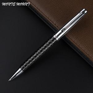 MOUNT MONTE stylo plume en fibre de carbone gel d'écriture cristal matériel Roller Ball bille Pour l'école d'affaires