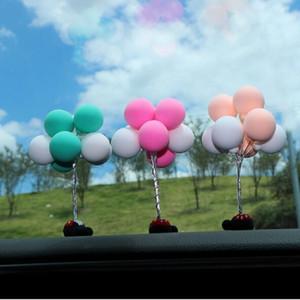 Cerâmica macia Publicidade Balão Ornamentos Interiores de Automóveis Adorável Instrumento Mesa Argila Balão Ornamentos de Carros Objetos Decorativos