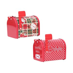 Christmas Mailbox Box Bonbonniere Iron Candy Box Gift Boxes Santa Mail Santa Kids Box Merry Christmas Ethereal Giff