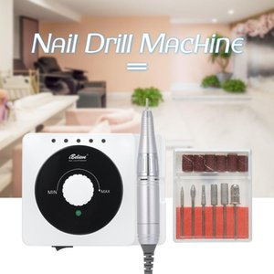 Professional Electric Manicure Machine Nail Drill Bit Set Milling Cutters Nail Art File Gel Remover 30000RPM Polishing Equipment