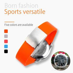 22mm / 23mm / 24mm silicone Bracelets montres Tissot T035407 T035.617 T035.439 caoutchouc Sport Montre Homme Bracelet Noir Bracelet étanche