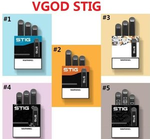 100% original VGOD STIG desechable vaciar Pod Dispositivo paquete 3pcs batería 270mAh 1,2 ml Pen Kit Cartucho Vape vs elegante EON barra de hojaldre desechable