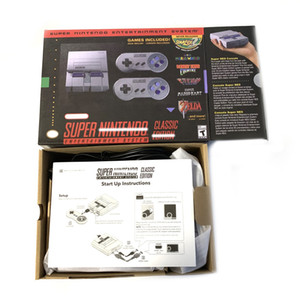 Super Classic SNES TV Mini Game Consoles 2020 Newest Entertainment System For 21 SNES Games Console Drop Shipping