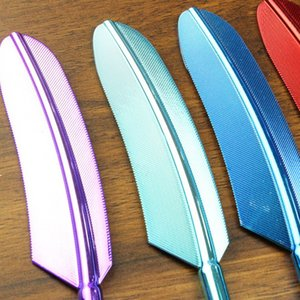 UV Plating Feather Touch Screen Pen Capacitive Stylus Pen For Smart Phone Tablet For iPad Point Round Thin Tip