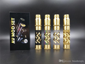 Avidlyfe Mod Kit DHL Avid Lyfe AV Free AV Batería Cigarrillo electrónico Twistyre Sheep Vape Quality RDA High 510 18650 Battle Umvsb
