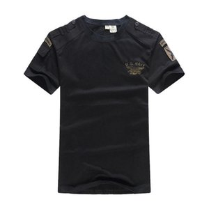 US Navy Seals Tactical T Shirt Airborne Clothes Mens Army SWAT Camouflage Combat Short-sleeve Loose Coon Tee T-shirts