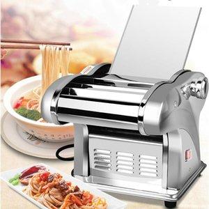 Manual Noodle Máquina pequeno Household Pasta Máquina duas facas Noodle fabricante de ferramentas multifuncional de aço inoxidável de cozinha