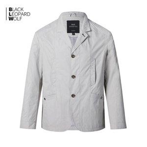 Blackleopardwolf primavera 2020 jaqueta nova lapela jaqueta masculina 12080