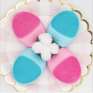 Rosto massageador elétrico Silicone rosto Escova Pore limpeza profunda Cleaner Pele escova de limpeza Removedor de maquiagem