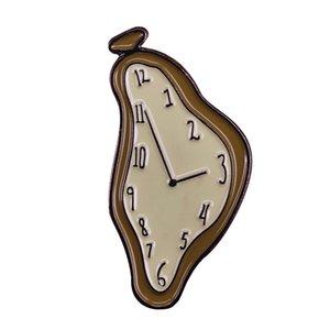 Salvador Dalí Reloj de fusión de la broche de hacer su día más surrealista