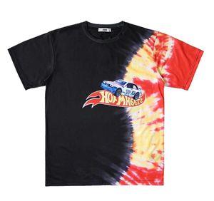 Mens T Shirt Fashion Mens Designer Short Sleeves Color drawing pattern High Quality Cotton T Shirt Tees mens fashion brand shirt