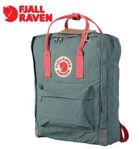 33 Cores sueco Fox Mochilas Canvas Retro bolsa de ombro do estudante impermeável livro saco de pacotes de caso Laptop esportes Mochila totes 3 viajar