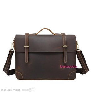 Briefcase Men S Bag Cowhide Leather Backpack More Pocket Top Quality Purse Designer Handbags Portable Genuine Leather Travel Bags