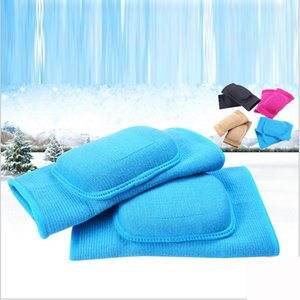 One Pair Professional Children Kids Knee Elbow Soft Ice Dance Figure Skating Protective Gear UNBreak Pads Thicken Breathable T200615