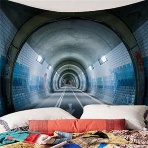Art Tapestry nuova personalità Galleria stradale Paesaggio Arazzo casa Tovaglia Divano Pad Telo Outdoor Meal Pad
