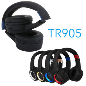 New TR905 Bluetooth headphone sport Support TF FM radio for iphone xiaomi computer best headphone wireless with mic