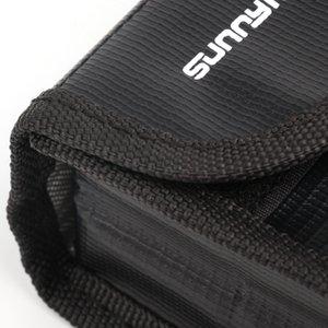 Sunnylife Для DJI Mavic 2 Pro / Zoom Drone Lipo корпус батареи безопасного хранения сумка Противопожарные Защитный Protection Box Лучевая