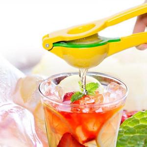Лимонная соковыжималка Алюминий Double Bowl Руководство Citrus Press сок Полезные инструменты кухни Ручной пресс Апельсиновый сок Развертки OOA1902