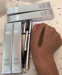 Top qualité marque yeux maquillage puissance sourcils crayon universel 0,16 g regard bien se sentir mieux crayon à sourcils double usage bateau drop