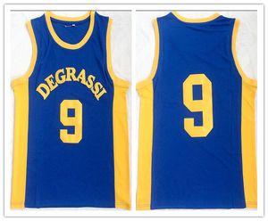 fait sur mesureDegrassi Community 9 maillots de basket-ball Jimmy Brooks homme femme jeunes taille S-5XL