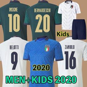 الثالث Italy  2019 2020 ايطاليا لكرة القدم جيرسي INSIGNE النهضة قميص كرة القدم كيليني بونوتشي BERNARDESCHI BELOTTI متحرك SENSI BARELLA
