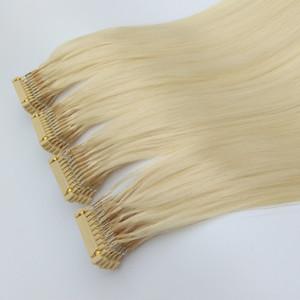 Brésil Extension de cheveux 6d Tip Pre Bond Extension de cheveux humains pour femme pleine tête en 30 minutes 20 couleurs disponibles 14-28inch Prix usine
