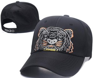 Cappelli visiera esterna tigre design di lusso papà Cappelli Berretto da baseball per uomini e donne famose marche cotone Golf curvo cappello registrabile Skull Sport