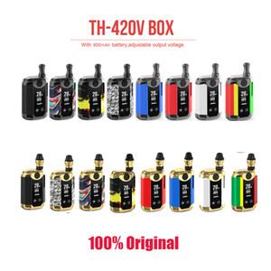 Originale Kangvape TH420 V Box Kit TH420 V Starter Kit 800mAh Vape Mod VV preriscaldamento batteria da 0,5 ml spessi olio Cartucce Vape