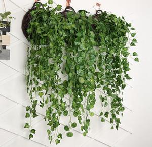 Asma Yaprağı Yapay Greenery Yapay Yapraklar Yapay Ağaç Dallar Sahte Yapraklar Düğün Bahçe Dekorasyon CFYZ38Q Bitkiler Asma