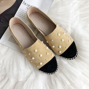 New Espadrilles Mocassins Femmes Chaussures plates Femme mocassins en cuir Mujer dames Chaussures Zapatos De Mujer épais Sole Sapato Feminino