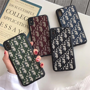 Print Logo Phone Case Marke Telefon-Kasten für iPhone 6/7/8 Plus X XR XS Max Fashion Phone Protect-Abdeckung