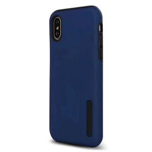 LG Q7 S6 Başbakan V40 K40 Stylo 5 4 G7 K8 K10 2018 Darbeye Shell için Çift Katmanlı Mat Telefon Koruyucu Kılıf Kapak