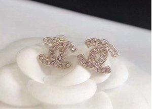 2020 Schmuck Frauen Ohrringe Perlen Strass-Schmuck für den Abend prom zeigen Ohrringe hohe Qualität