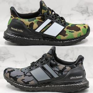 Yüksek Kaliteli Ape Ultra Boost Camo Paketi Ayakkabı 2019 Yeni Moda Erkekler Ultraboost UB Siyah Gri Yeşil PK Sneakers Boyut 40-44