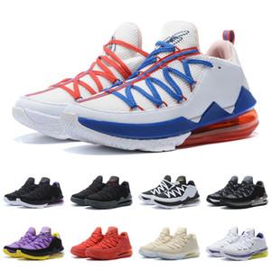 XVII (17) 낮은 조정 분대 레이커스 홈 화이트 퍼플 옐로우 핫 세일 최저 남성 여성 농구 신발 무료 배송 쇼핑몰 도매 크기 40-46
