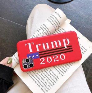 دونالد ترامب حالات 2020 الهاتف القضية TPU خفف من الزجاج غطاء الهاتف المضادة للسقوط الهاتف الرئيس أصوات الهاتف المحمول قضية الرسوم اكسسوارات GGA3455