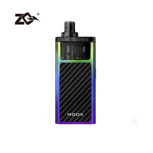 ZQ MOOX pod kit di 3 ml di perdite Mesh sostituzione prova bobina flusso d'aria regolabile kit MTL DTL 1100mah ZQ MOOX Vape