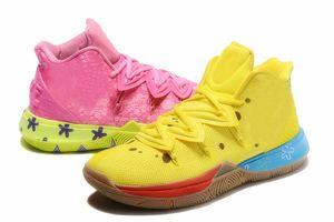 جديد وصول رجل Kyries 5 أحذية SPSB TV PE أحذية كرة السلة الإسفنج س زوجين حذاء تدريب مشرفي مجموعة ايرفينغ 5S خمسة بنين فاخر