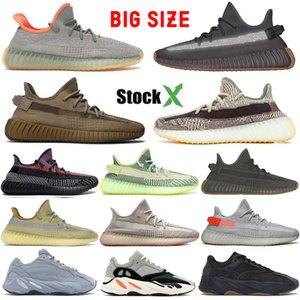 Top Hombres Zapatillas de running Tail Light Cinder V2 Designer Sneaker Mujeres 700 Wave Runner Solid Grey Zebra Yecheil Marsh Kanye West Reflective Earth