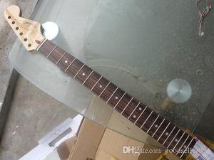 스트라토 캐스터 로즈 우드 벨트 기타 목 후 21 프렛 전기 기타 목 광택을 핑거